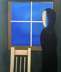 Charles Blackman The Farewell Large Signed Limited Edition Print 100cm X 85cm