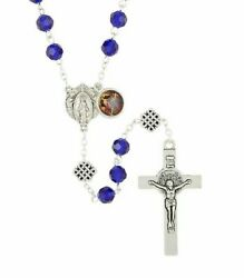 Mary Untier Of Knots Rosary Package W/ Case Prayer Card And Novena Booklet 48pg