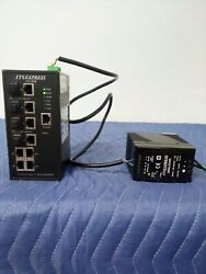 Its Express Its-8040 Hardened Layered 2+multi-cast Switch Andits-hps Power Adapter