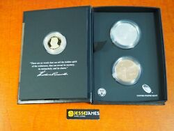 2013 Theodore Roosevelt Proof Dollar Silver And Bronze Medal Coin Chronicles Set