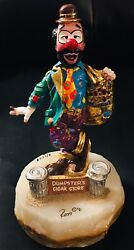 Ron Lee Clowns Dumpsterand039s Cigar Store Signed 1991 Limited Edition 3/1500