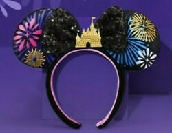 Minnie Mouse The Main Attraction Ears + Pins December Limited Edition