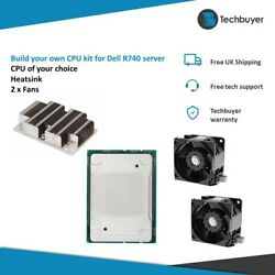 Cpu Kit For Dell R740 Server Andndash Build Your Own - Full Kit Inc Paste