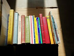 Large Lot Of 31 Vintage Railway Train Railroad Books And Pamphlets