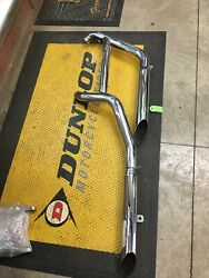 Harley Davidson Exhaust System With Screamin Eagle Mufflers 80038-95af/r