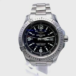 Breitling Colt Model A7438811/bd45 Stainless Steel Menandrsquos Watch