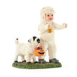 Department 56 Possible Dreams Halloween Mummy and Dog Glow in the Dark Figurine