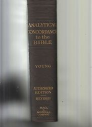 Analytical Concordance To The Bible By Young, Robert