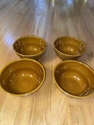 Bobby Flay Tupelo Honey Soup Or Cereal Bowl Set Of 4 Perfect Condition