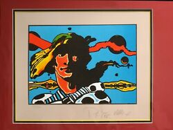 Peter Max Caspian Of Narnia Signed Fine Art Vintage Lithograph Obo