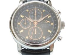 Auth Aerowatch Automatic 499 Limited Le Grand Moon Phase Wrist Watch 0018