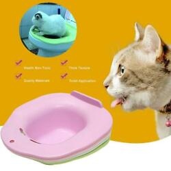 Cat Toilet Training Kit Cleaning System Pets Kitten Urinal Litter Tray V0X6