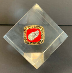 1997 Detroit Red Wings Stanley Cup Ring Paperweight Lucite Jostens Nhl Hockey