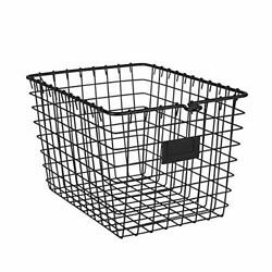 Spectrum Diversified Wire Pet Toy Office Dorm Storage Basket Bin Organizer Sm...