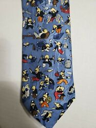 Mens Tie Monopoly Man 100 Silk Rm Style 3.5andrdquox 59andrdquo Usa Made