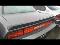 Trunk/hatch/tailgate Sxt With Spoiler Fits 08-14 Challenger 16624627