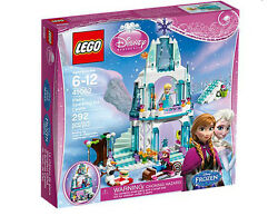Lego Disney's Frozen Elsa's Sparkling Ice Castle 41062 Usa Sold And Shipped