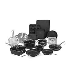 20-piece Aluminum Ultra-durable Non-stick Diamond Infused Cookware And Bakeware