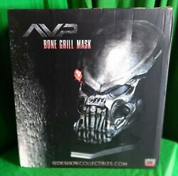 Bone Grill Predator Mask Prop Replica By Sideshow Collectibles 237/500