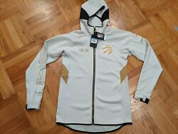 Nwt Nike Toronto Raptors Showtime Therma Fit Player Issue Jacket Sz M-tall Med