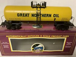 ✅mth Premier Great Northern Oil Modern Tank Car 20-96017 For O Scale Set Gas
