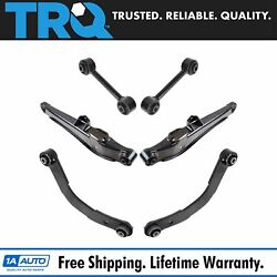 Trq Rear Upper Lower Locating Lateral Control Arm Kit 6pc For Patriot Compass