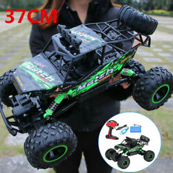 Electric Rc Cars 4wd Monster Truck Off-road Vehicle Remote Control Crawler Green