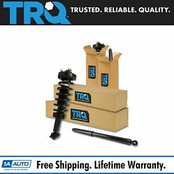 Trq 4 Piece Loaded Quick Complete Shock Strut Spring Assembly Kit Lh Rh For Ford