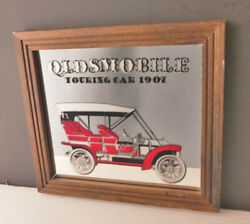 Antique Car Oldsmobile Touring 1907 / Mirror Bar Sports Collection Advertising