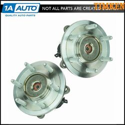 Front Wheel Hub And Bearing Pair Timken For Expedition 4wd