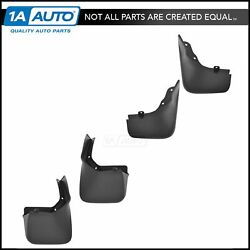 Oem Mud Flap Splash Guard Front And Rear Set For 13-14 Ford Escape