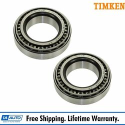 Timken Bearing And Race Inner Outer Pair Set For Chevy Dodge Ford Gmc Jeep