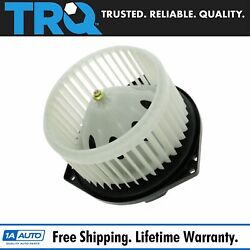 1a Heater A/c Front Blower Motor W/ Fan Cage New For Nissan Infiniti