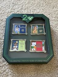 Disney Pin Trading Event 20th Anniversary Yesterday And Today Slider Pins Le 250