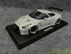 Ignition Model 1/18 Scale Pandem R35 Gt-r Metalic White/p Limited 50