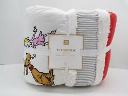 Pottery Barn Kids Cindy Lou Max Christmas Holiday Quilt Full Queen 4923c