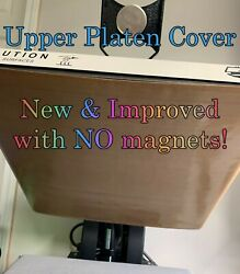 15x15 Quick Install Upper Platen Heat Press Covernow With Replaceable Magnets