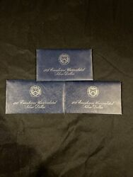 1972 And 1973 Eisenhower Uncirculated Silver Dollar As