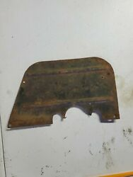 1946 1947 Ford Truck Floor Panel Firewall Steering Column Pedal Cover Plate
