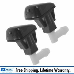 Oem Windshield Washer Spray Nozzle Jet Set Pair For Honda Accord Acura Tl New