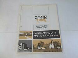 Bolens Model 1256-04 Husky 1256 Tractor Owner's Operation And Maintenance Manual