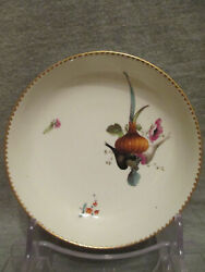 Ansbach Porcelain Vegetable Saucer. 1700and039s