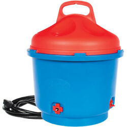 HEATED POULTRY CHICKEN FOUNT Nipple Waterer 3 Gallon Insulated High Quality.