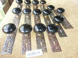 Vintage Antique Ornate Victorian 30 Piece Russell And Erwin Door Hardware Set 1228