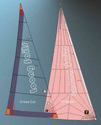 Headsail Roller Furling Luff 34.32and039leech 33.2and039foot 20and039 High Modulus Dacron
