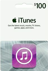 Itunes Gift Card 100 Us Usd Apple | App Store Key Code | American Usa | Iphone
