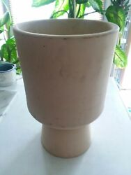 Malcolm Leland Architectural Pottery Chalice Planter Mid Century Modern Cressey