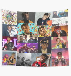 Juice Wrld 999 Collage Wall Tapestry Juice World Wall Tapestry