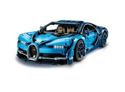 Retired Lego 42083 Techni Bugatti Chiron Race Car Building Kit And Engineering Toy