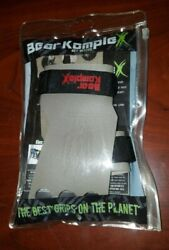 Bear Komplex Grips - Small 3-hole Grey - Leather Crossfit Wrist Support